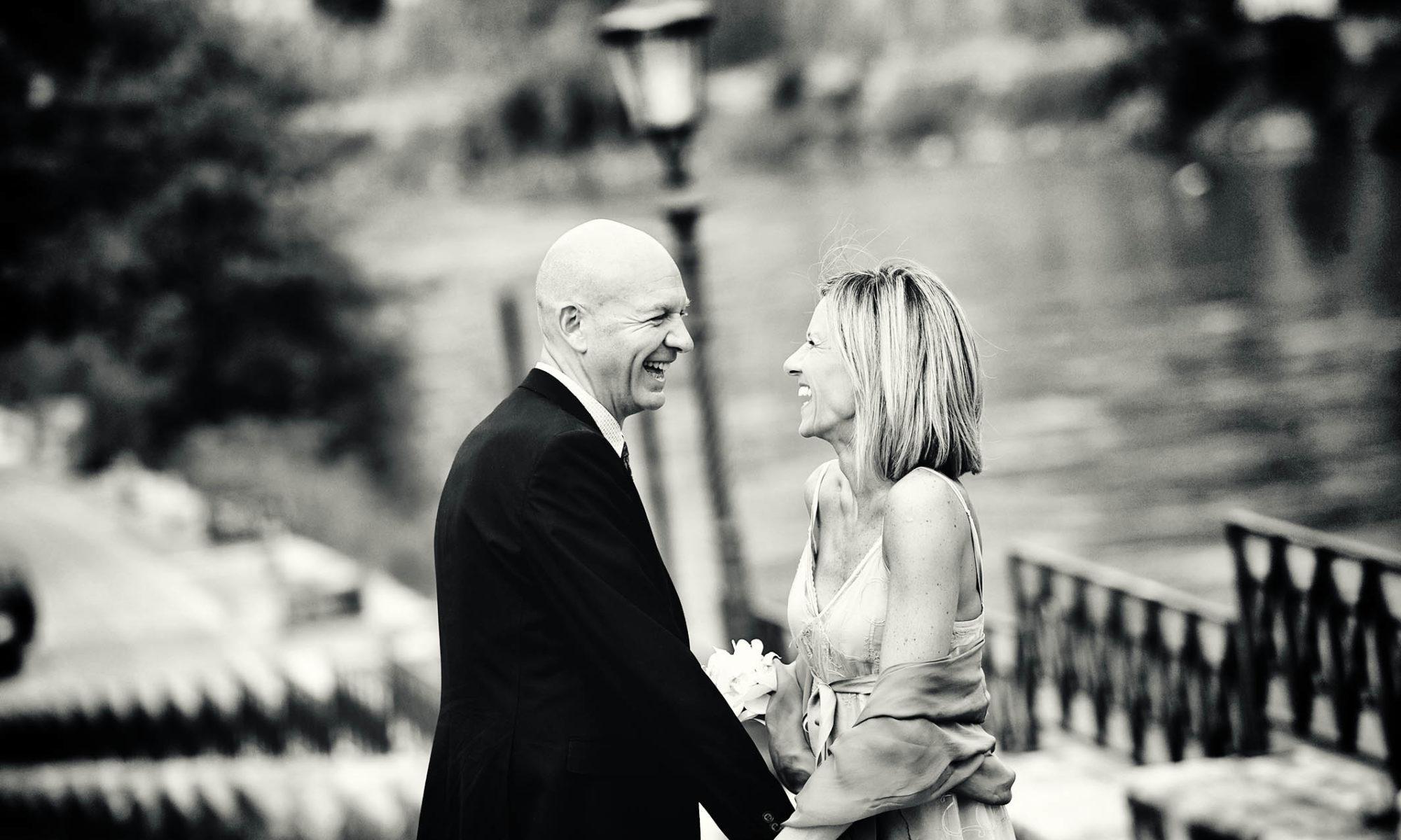 Foto prematrimoniali nel centre di Roma