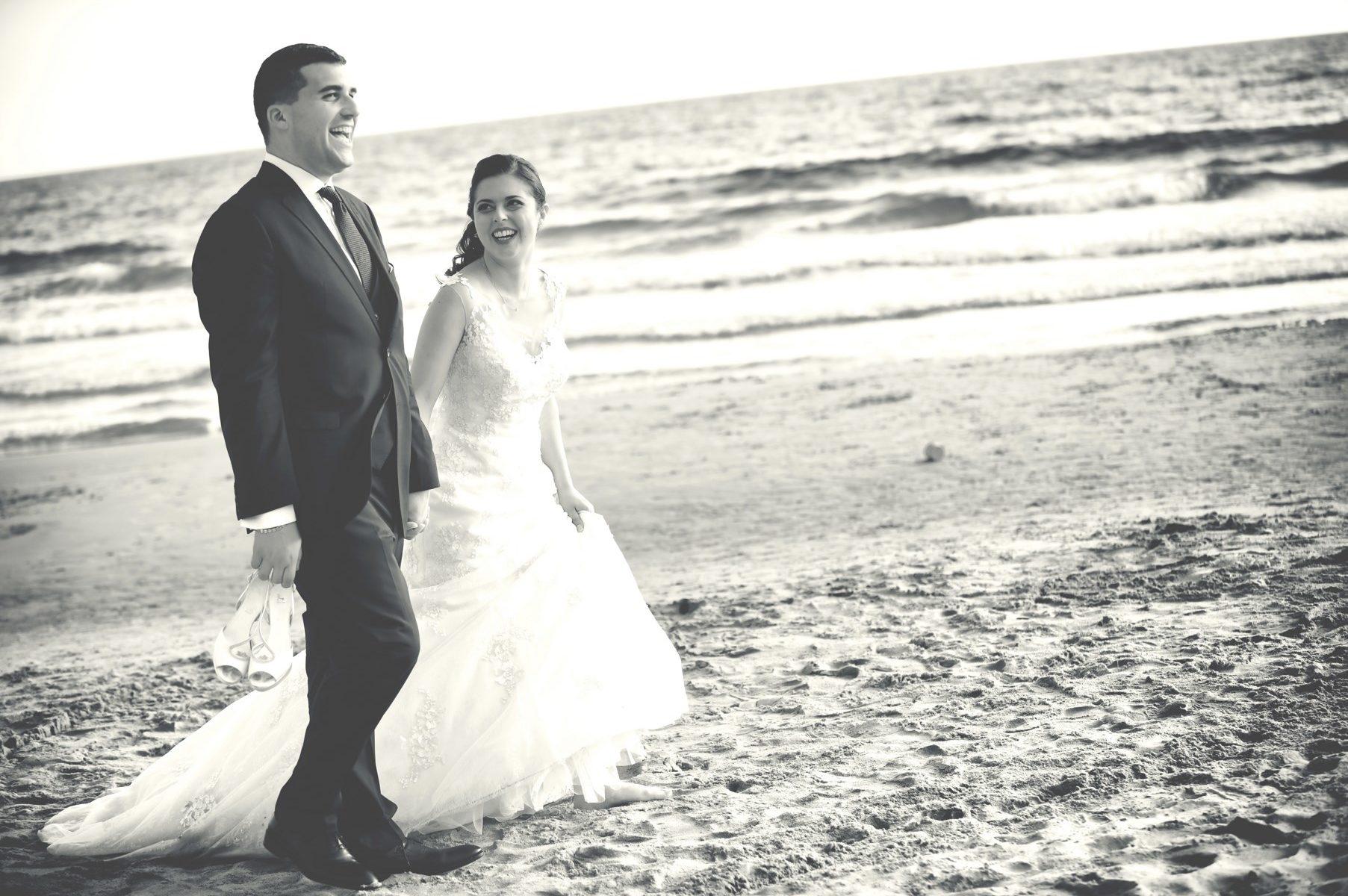 foto di matrimonio al mare